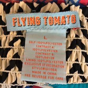 Flying Tomato Dresses - Flying Tomato | Mix Print Maxi Dress
